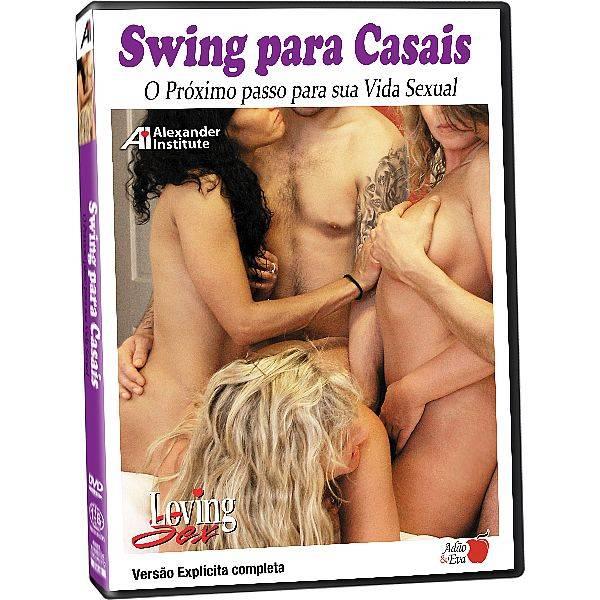 DVD Erótico Swing Para Casais Próximo Passo Para Sua Vida Sexual - Coleção Amor e Sexo - SEX SHOP CURITIBA