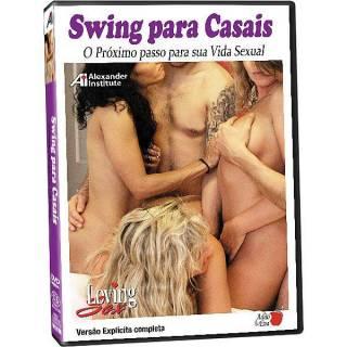 DVD Erótico Swing Para Casais Próximo Passo Para Sua Vida Sexual - Coleção Amor e Sexo