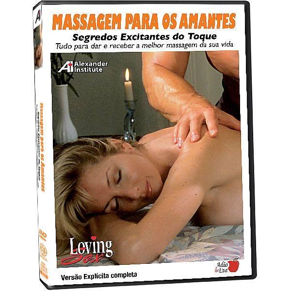 DVD Erótico Massagem para os Amantes Segredos Excitantes do Toque - Coleção Amor e Sexo - SEX SHOP CURITIBA