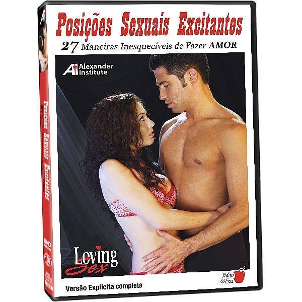 DVD Erótico Posições Sexuais Excitantes 27 Maneiras Inesquecíveis de Fazer Amor Coleção Amor e Sexo - SEX SHOP CURITIBA
