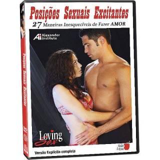 DVD Erótico Posições Sexuais Excitantes 27 Maneiras Inesquecíveis de Fazer Amor Coleção Amor e Sexo