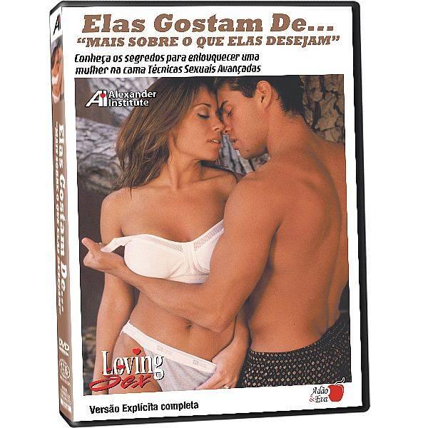 DVD Erótico Elas Gostam De... Mais Sobre o que Elas Desejam Coleção Amor e Sexo - SEX SHOP CURITIBA