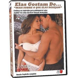 DVD Erótico Elas Gostam De... Mais Sobre o que Elas Desejam Coleção Amor e Sexo