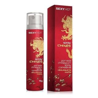 Spray Chinês - Vibra, Esquenta e Esfria