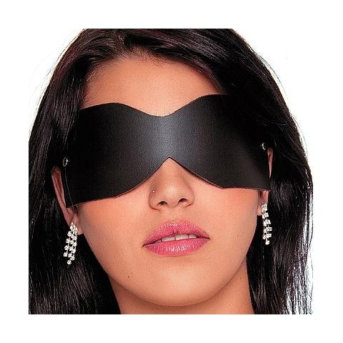 Tapa Olhos - Couro Sintético - SEX SHOP CURITIBA