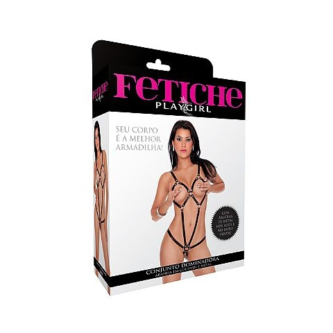 Fantasia Erótica Conjunto Dominadora Aranha - SEX SHOP CURITIBA