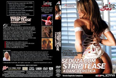 DVD Erótico Seduza Com Strip Tease A Dança Erótica - Coleção Amor e Sexo - SEX SHOP CURITIBA