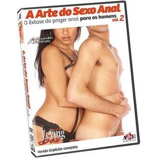 DVD Erótico A Arte do Sexo Anal 2 - O êxtase do prazer anal para os Homens Coleção Amor e Sexo