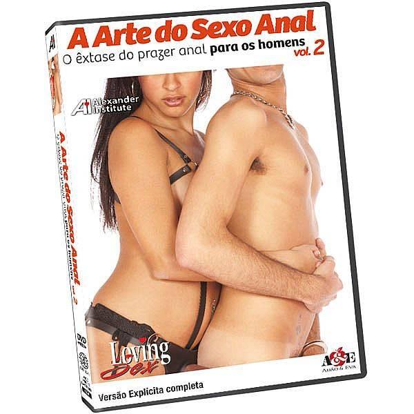 DVD Erótico A Arte do Sexo Anal 2 - O êxtase do prazer anal para os Homens Coleção Amor e Sexo - SEX SHOP CURITIBA
