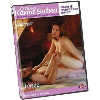 DVD Erótico O Novo Kama Sutra 4 - O Guia indispensável Para Os Amantes Coleção Amor e Sexo
