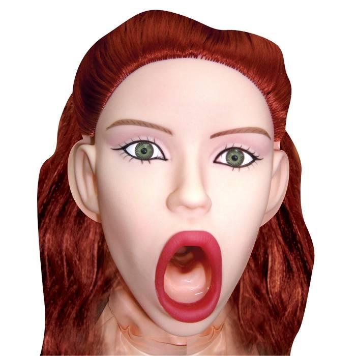 Boneca Inflável Ruiva Safadinha 3 Orifícios Sexy Psycho - SEX SHOP CURITIBA