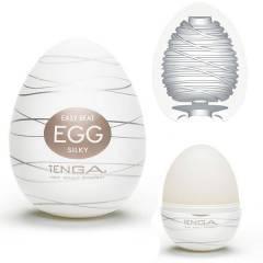 Masturbador Tenga Egg Silky - Masturbador em Formato de Ovo para penetração