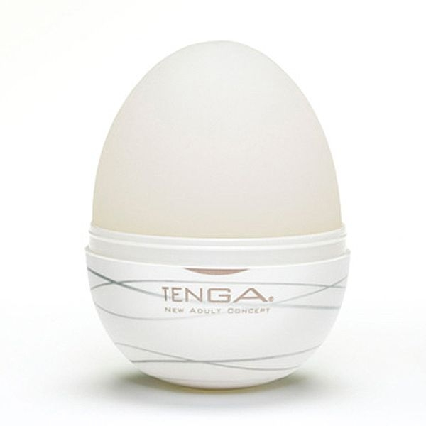 Masturbador Tenga Egg Silky - Masturbador em Formato de Ovo para penetração  - SEX SHOP CURITIBA