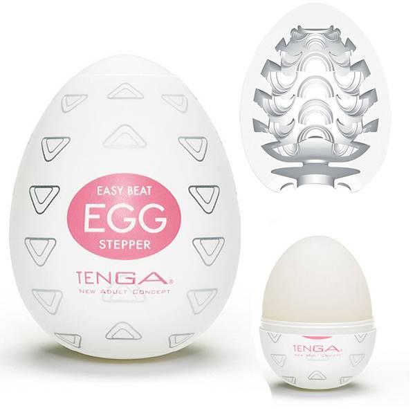 Masturbador Tenga Egg Stepper - Masturbador em Formato de Ovo para penetração - SEX SHOP CURITIBA