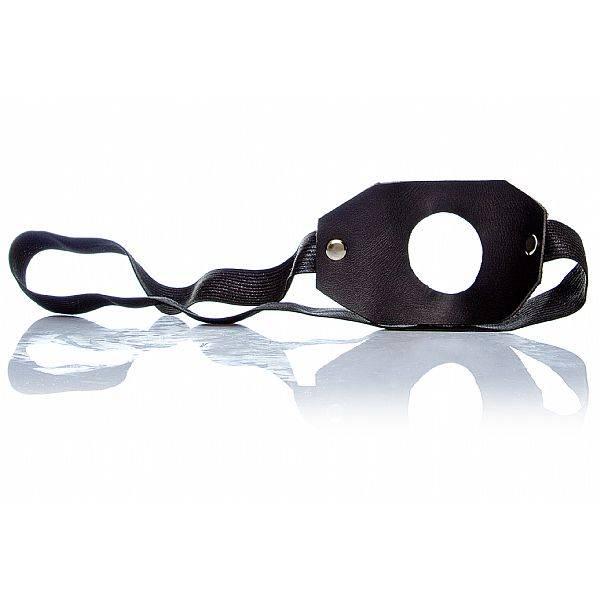 PROMOÇÃO Pênis Oco De Borracha 14 x 4 cm Com Elástico Cor de Pele - SEX SHOP CURITIBA