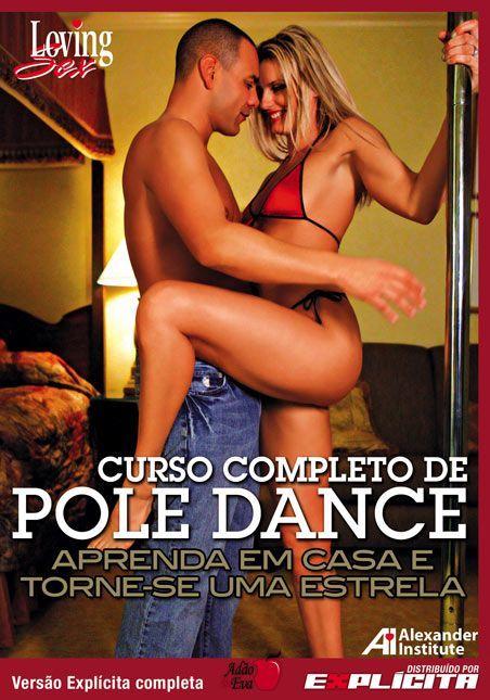 DVD Erótico Curso Completo de Pole Dance Aprenda em Casa - Coleção Amor e Sexo - SEX SHOP CURITIBA