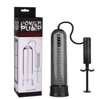 Bomba Peniana Power Pump Fumê Provoca Ereção e Aumento