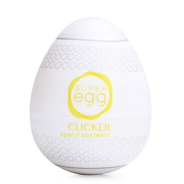 Masturbador Super Egg Clicker - SEX SHOP CURITIBA