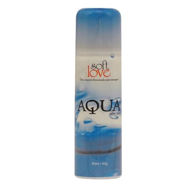 Spray Lubrificante Aqua Siliconizado 50ml - Não sai na água - SEX SHOP CURITIBA