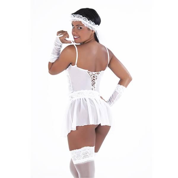 Fantasia Noiva Vestidinho - SEX SHOP CURITIBA