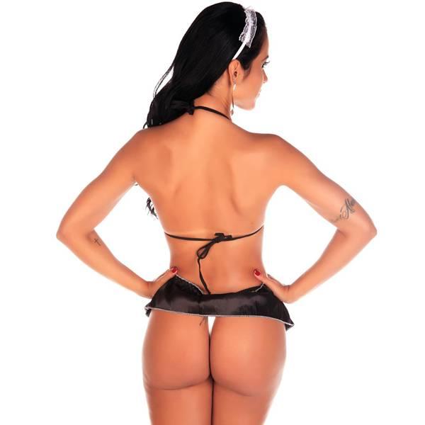 Fantasia Empregada Sexy - SEX SHOP CURITIBA