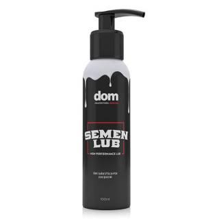 Lubrificante Semen Lub - Textura e Cor de Esperma