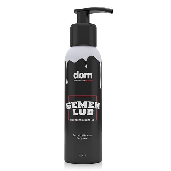 Lubrificante Semen Lub - Textura e Cor de Esperma - SEX SHOP CURITIBA