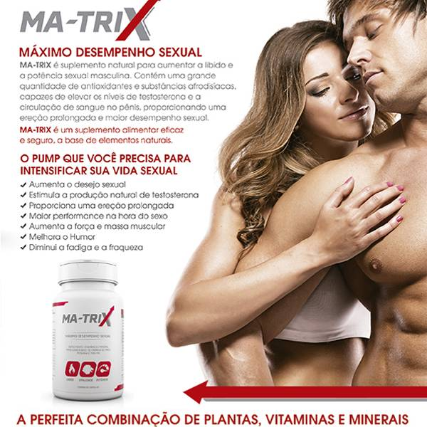 MA-TRIX Maca Peruana Suplemento Libido e Potência Sexual - SEX SHOP CURITIBA
