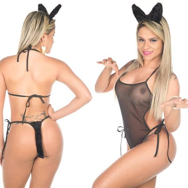 Fantasia Body Loba - SEX SHOP CURITIBA