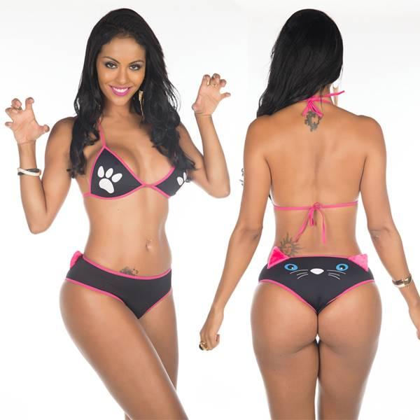 Fantasia Erótica Gatinha Manhosa - SEX SHOP CURITIBA
