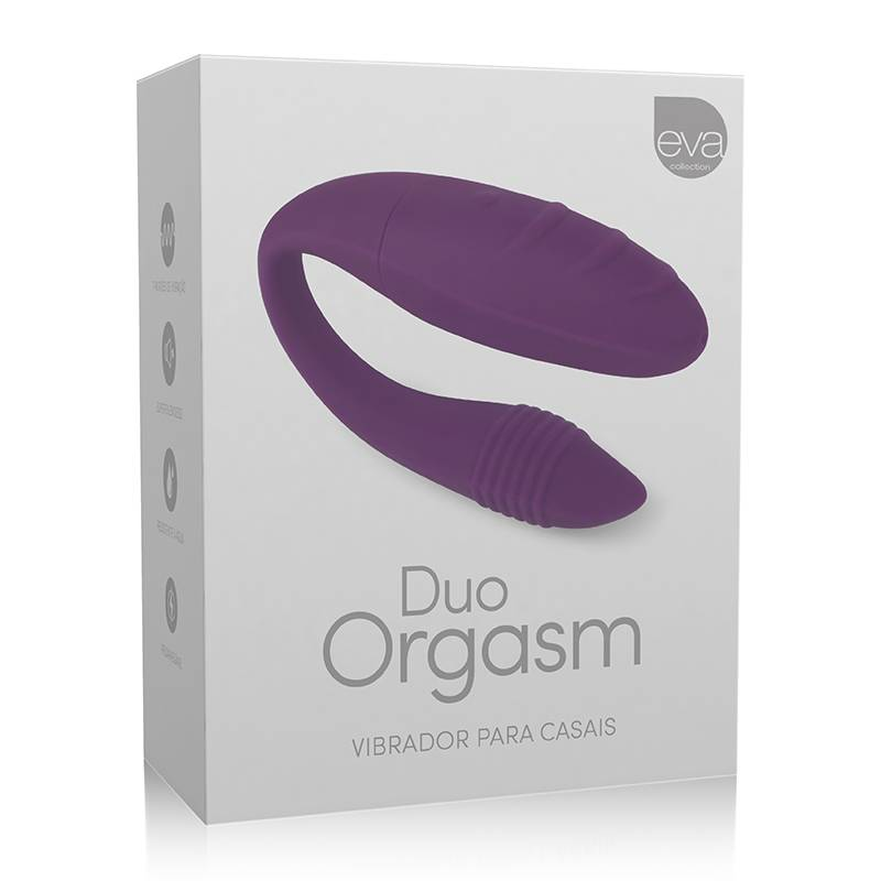 PROMOÇÃO Vibrador Duo Orgasm Silicone - Duplo Para Casais - SEX SHOP CURITIBA