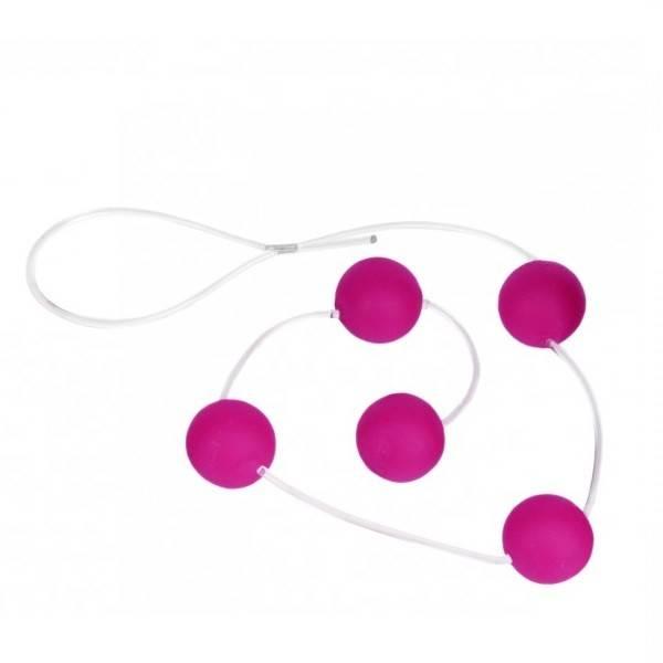 Bolinha Tailandesa Pink 5 Esferas de 2cm - SEX SHOP CURITIBA