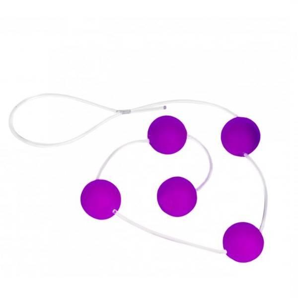 Bolinha Tailandesa Lilás 5 Esferas de 2cm - SEX SHOP CURITIBA