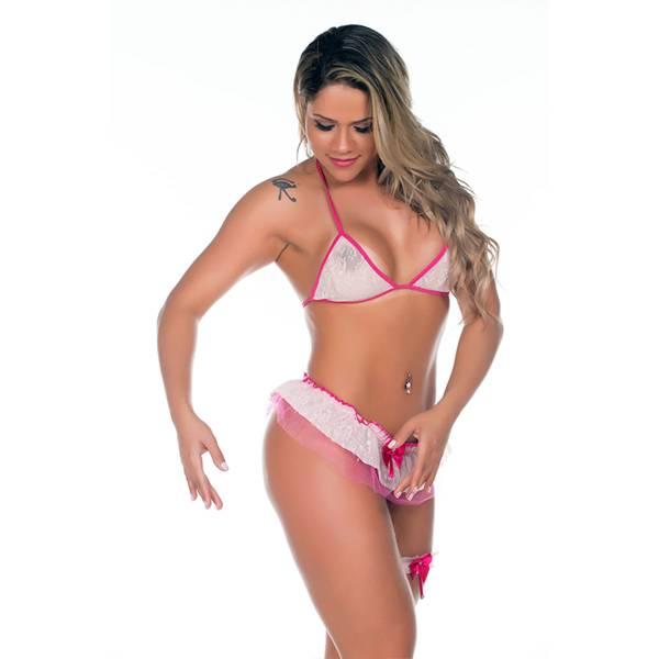Fantasia Bailarina Sexy - SEX SHOP CURITIBA