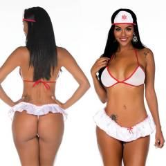 Fantasia Enfermeira SAMU