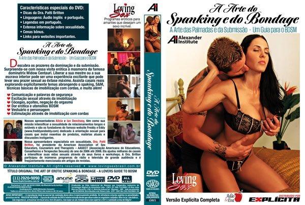 DVD Erótico A Arte Do Spanking E Do Bondage - Palmadas - Coleção Amor e Sexo - SEX SHOP CURITIBA