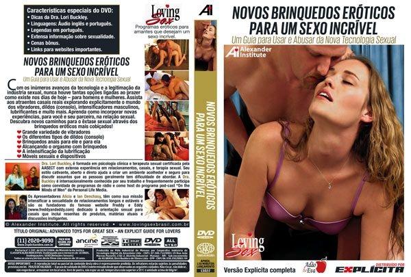 DVD Erótico Novos Brinquedos Eróticos Para Um Sexo Incrível -Coleção Amor e Sexo - SEX SHOP CURITIBA