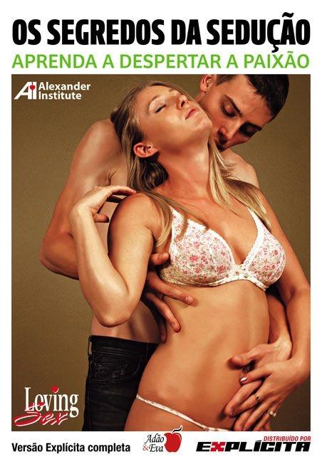 DVD Erótico Os Segredos da Sedução Aprenda a Despertar a Paixão - Amor e Sexo - SEX SHOP CURITIBA