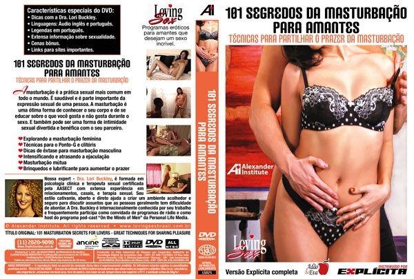 DVD Erótico 101 Segredos da Masturbação para Amantes - Coleção Amor e Sexo - SEX SHOP CURITIBA