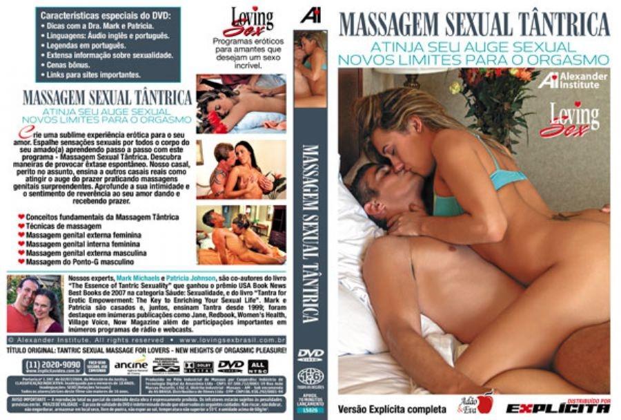 DVD Erótico Massagem Sexual Tântrica Sem Limites p/Orgasmo - Coleção Amor e Sexo - SEX SHOP CURITIBA