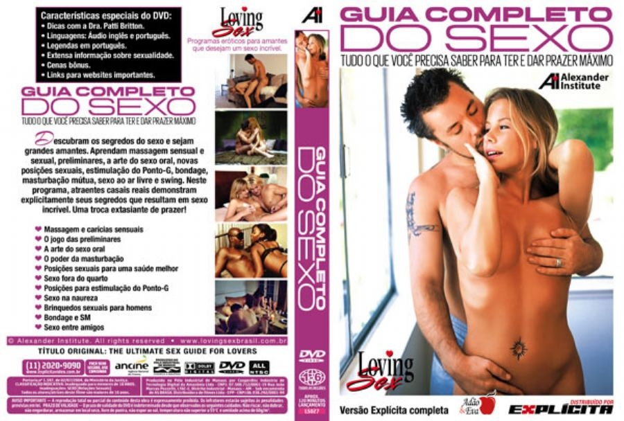 DVD Erótico Guia Completo do Amor e Sexo - Para Ter e Dar prazer Máximo Prazer - SEX SHOP CURITIBA