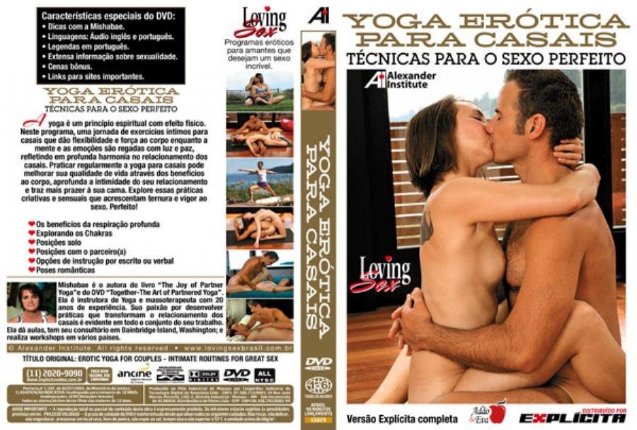 DVD Erótico Yoga Erótica Para Casais - O Sexo Perfeito - Coleção Amor e Sexo - SEX SHOP CURITIBA