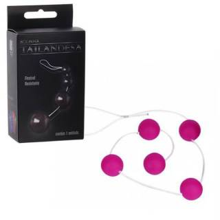 Bolinha Tailandesa Pink 5 Esferas de 2,4cm