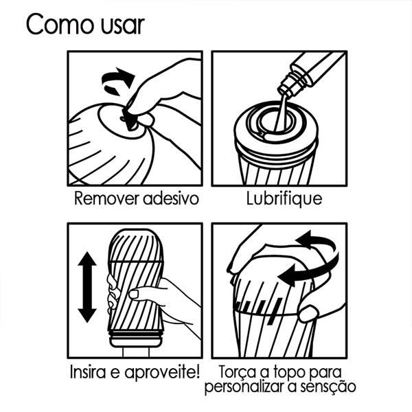 PROMOÇÃO Masturbador Tenga Air-Tech Twister 5 Regulações de Prazer - SEX SHOP CURITIBA