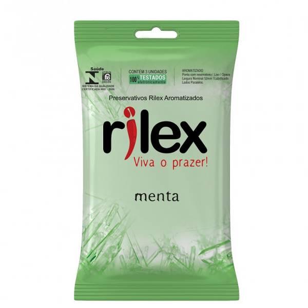 Preservativo Rilex Menta - SEX SHOP CURITIBA