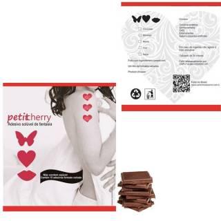 PROMOÇÃO Adesivo Corporal Comestível Sabor Chocolate 15 Peças