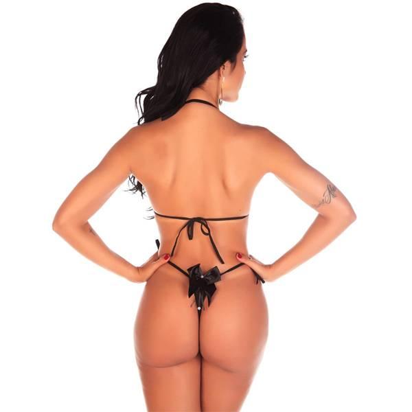 Body Em Renda Preta Pimenta Sexy - SEX SHOP CURITIBA