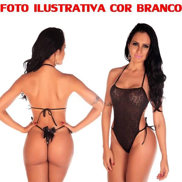 Body Em Renda Pimenta Sexy COR VERMELHO - SEX SHOP CURITIBA