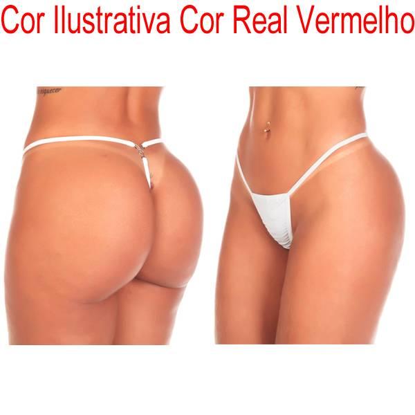 Calcinha Fio Playboy Cor VERMELHO - SEX SHOP CURITIBA