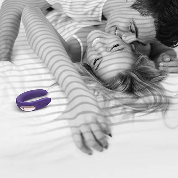PROMOÇÃO Vibrador Partner Plus Silicone - Duplo Para Casais - SEX SHOP CURITIBA